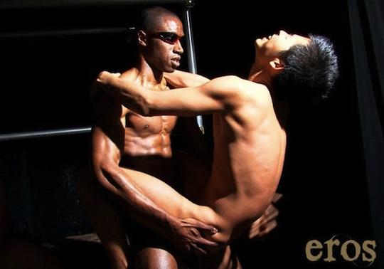 Japan Sex Interracial - Black Man vs Japanese Men