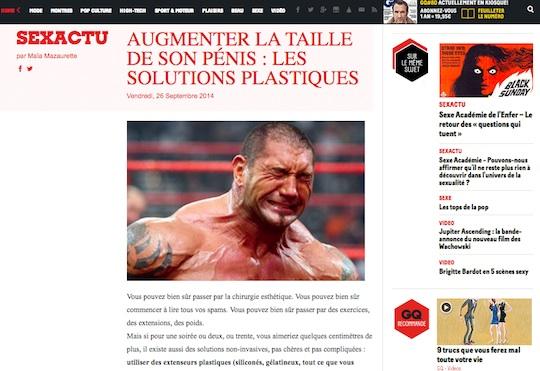 gq magazine france penis extenders
