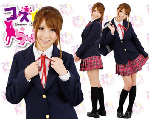 After School Gyaru Uniform Costume