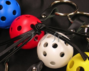 Ball Leather Gag