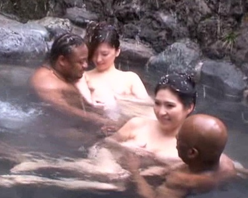 Japanese Wife Hot Spring Interracial Dirty Vacation