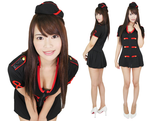 Sexy Stewardess Uniform Costume