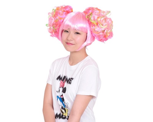 Harajuku Girl Crazy Pink Hair Wig