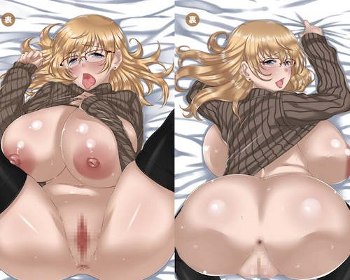 Insert Air Pillow Erotic Anime Pillow Cover #28