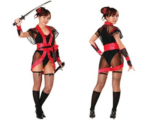 Swordswoman Girl Warrior Cosplay Costume
