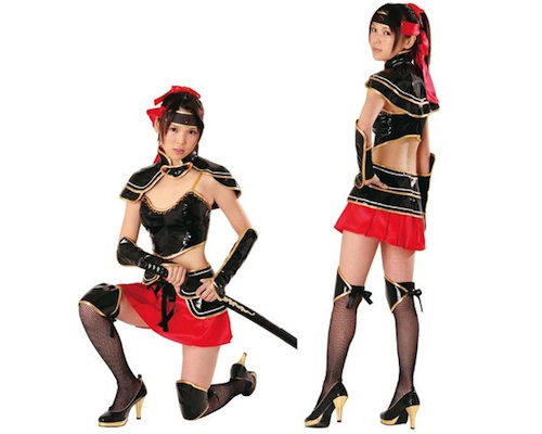 Sengoku Moe Japanese Warrior Girl Cosplay 2
