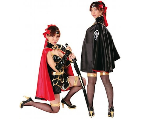 Sengoku Moe Japanese Warrior Girl Cosplay