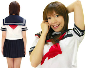 Japanese School Girl Uniform