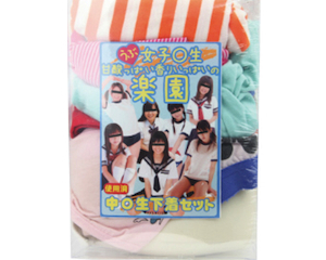 Junior High School Girls Sweet Smell Used Panties Pack