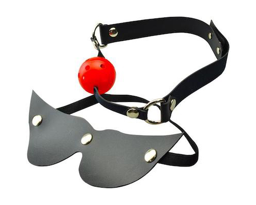 Orochi Blindfold and Ball Gag