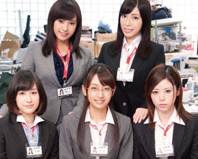 SOD Kanban Musume Female Company Employees Sexual Induction