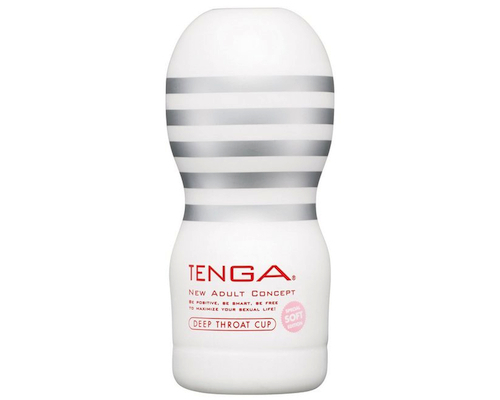 Tenga Onacup Deep Throat Soft White Edition