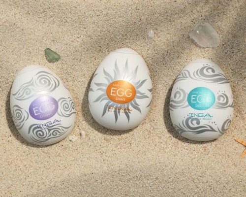 Tenga Summer Set! Egg Season 4 + Cool Edition Onacups