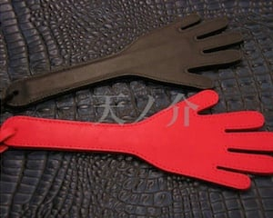Hand Made Leather Hand Spanking Paddle