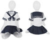 Usahane Air Doll Schoolgirl Sailor Uniform Costume