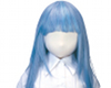 Usahane Air Doll Wigs Long