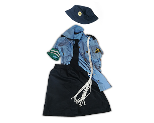 Yurina Used Policewoman Uniform Cosplay Costume