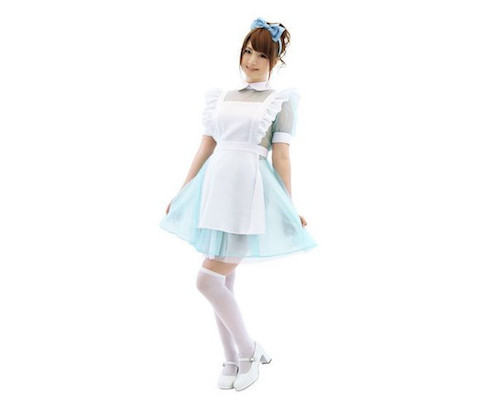 Virgin Blue Alice Maid Costume