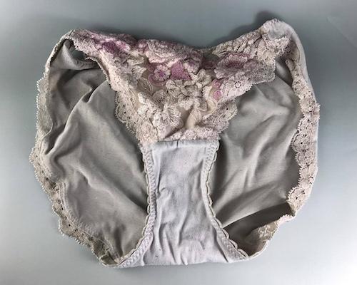 Yumiko Used Panties Gray