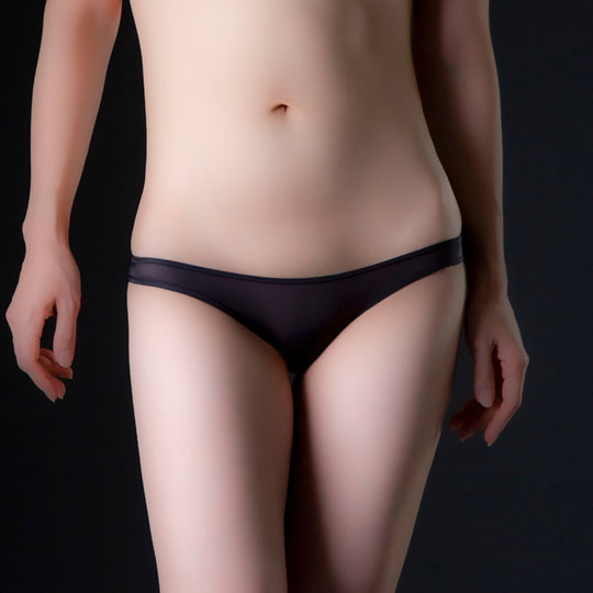Ultra-Thin Stretchy Half-Back Panties