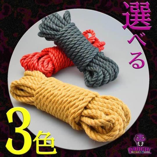 Orochi Asanawa Hemp Rope for Shibari Bondage