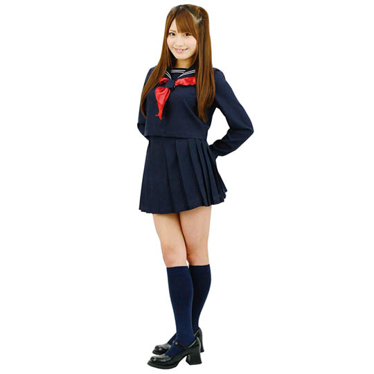 Japanese Winter School Uniform Classmate Costume