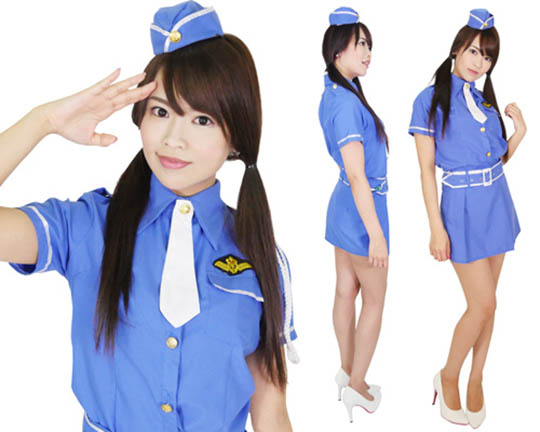 Cosmopolis Sexy Female Pilot Costume