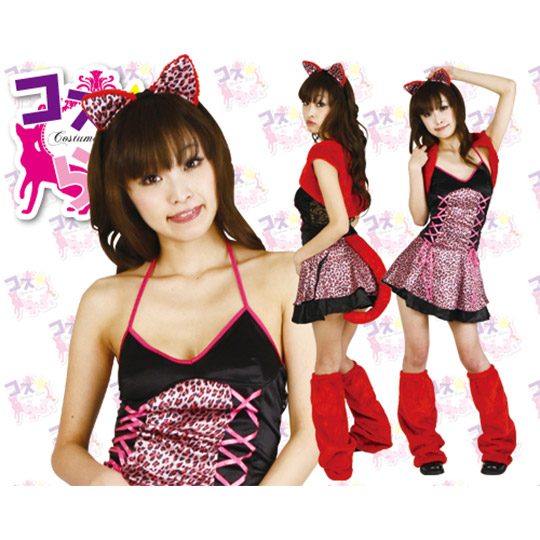 Koakuma-chan Little Devil Catgirl Cosplay Costume
