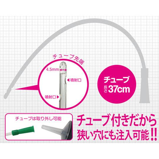 Medy No. 13 Plastic Anal Syringe with Tube 500 ml (17 fl oz)