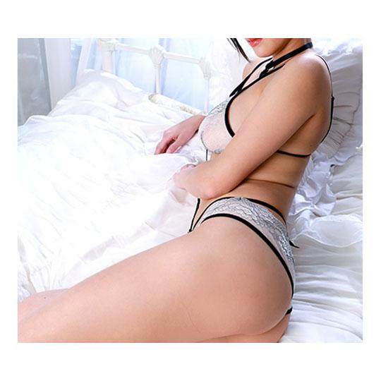 Crescente Ruffly Bra and Panties