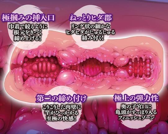 Meiki Hyakkei Best Onahole Kinchaku
