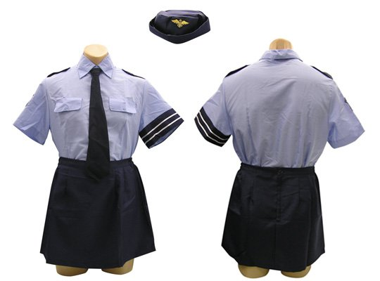 Otoko no Ko Female Police Officer Costume