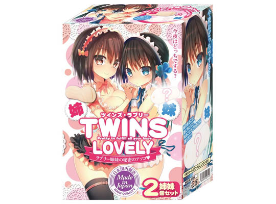 Twins Lovely Threesome Onahole Set