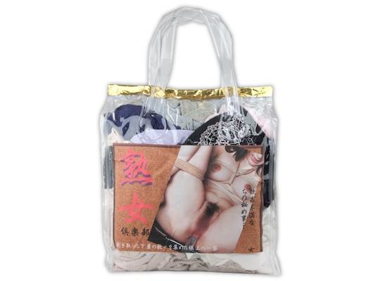 Jukujo Club Japanese MILF Used Panties Bag