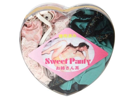 Sweet Panties Tokyo Used Underwear Pack