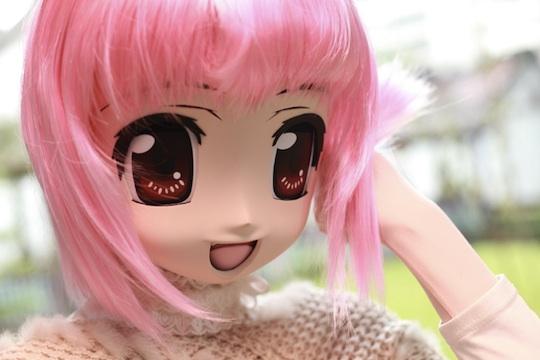 Anime Face Mask Kigurumi Set