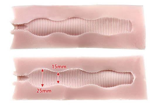 Tsubo 2.0 Type Corrugated Wave Onahole