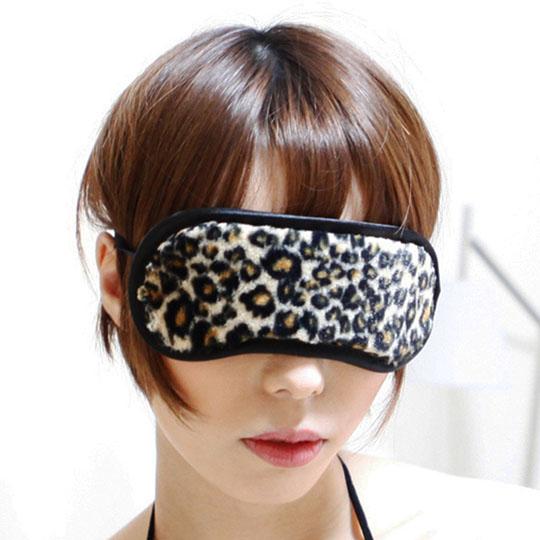 SM VIP Leopard Print Eye Mask