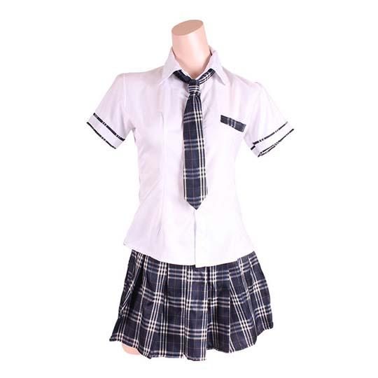 Check Skirt Older Sister Type Classic School Uniform