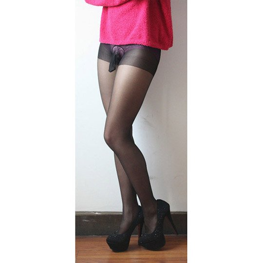 Pantyhose with Penis Sleeve