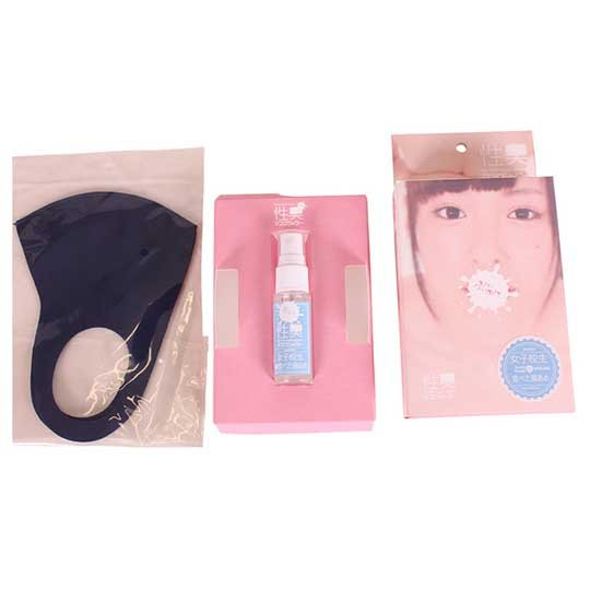 Sei-Syu Bukkake Mask Shower Cotton Candy Scent