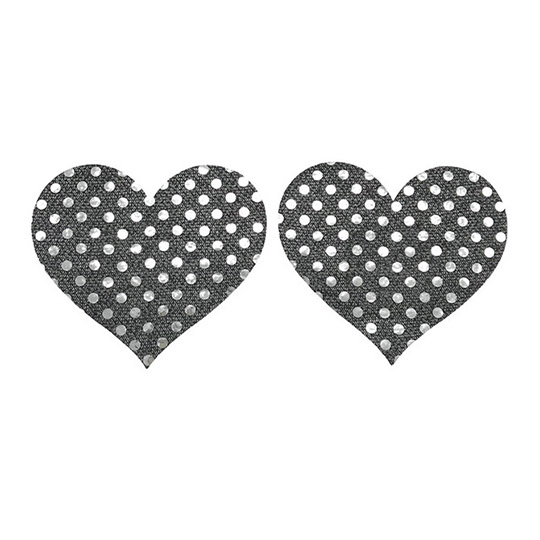 Sequin Sticker Heart Nipple Covers