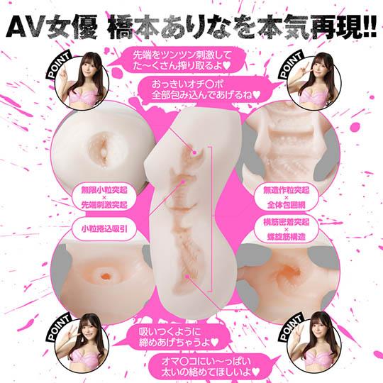 Horny JAV Actress Arina Hashimoto Goddess Body Clone Onahole