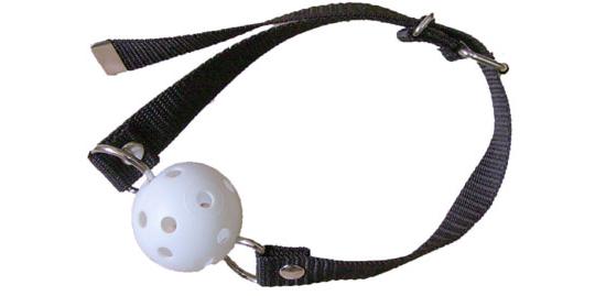 NIN White Ball Gag