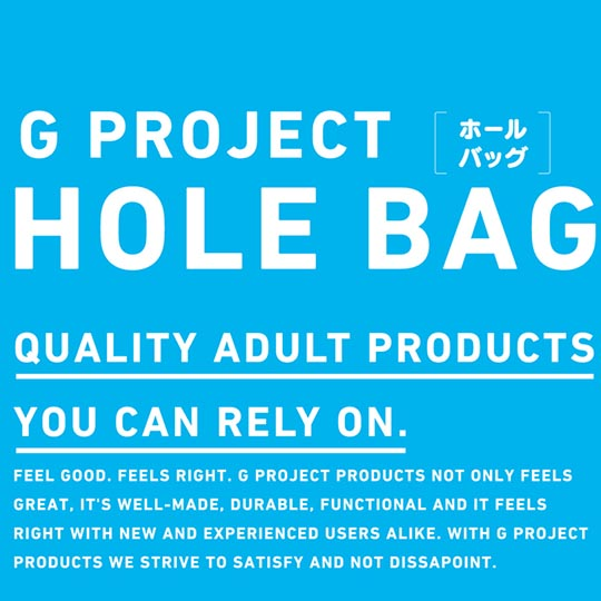 G Project Hole Bag for Storing Masturbators