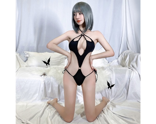 Bat Wing All-in-One Lingerie