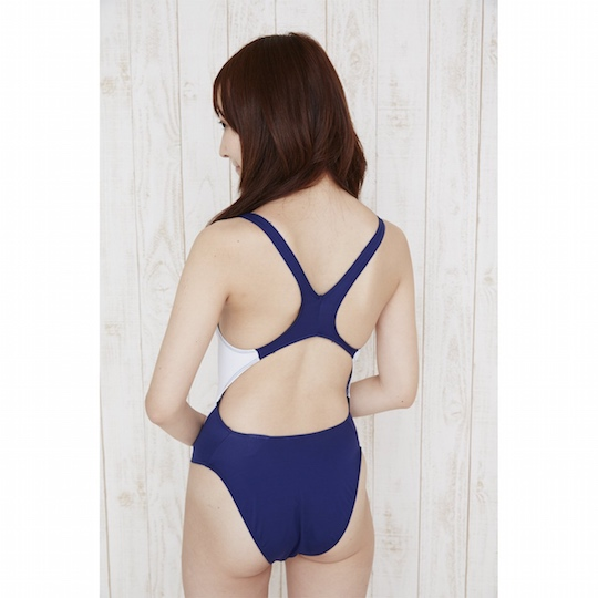 Japanese School Swimming Club Swimsuit Costume