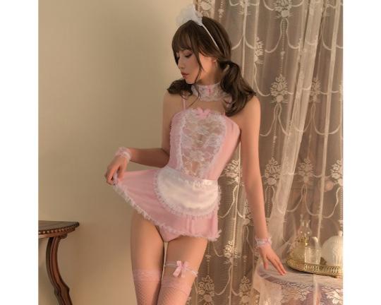 Kiss Kiss Maid Costume