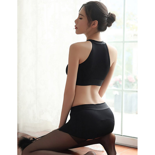 Melty Bust Skirt and Crop Top