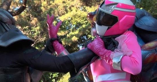 Superheroine Cosplay Sex Battle Yui Aikawa
